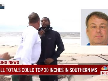 Arrest Warrant Issued for Man That Ran Up On NBC Reporter During LIVE Mississippi Broadcast