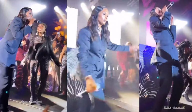 Day 2 at The Dolce Gabbana Show; Normani Dances While Ciara Performs Her Classic Single '1, 2 Step'