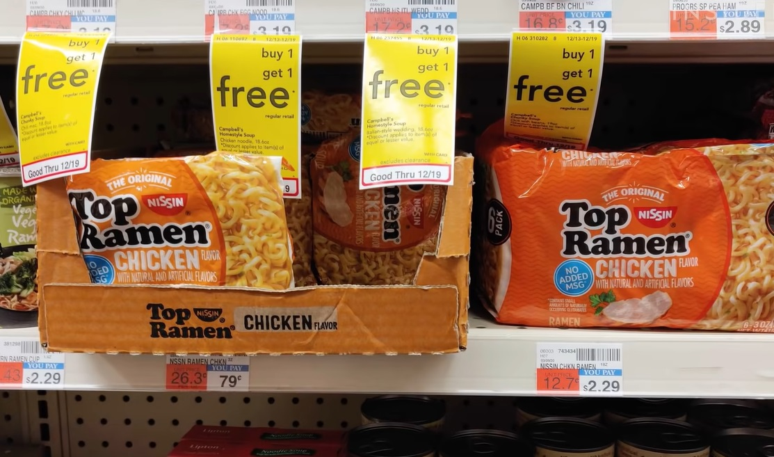 Jail in Washington Offers Inmates Ramen Noodles for Vaccines