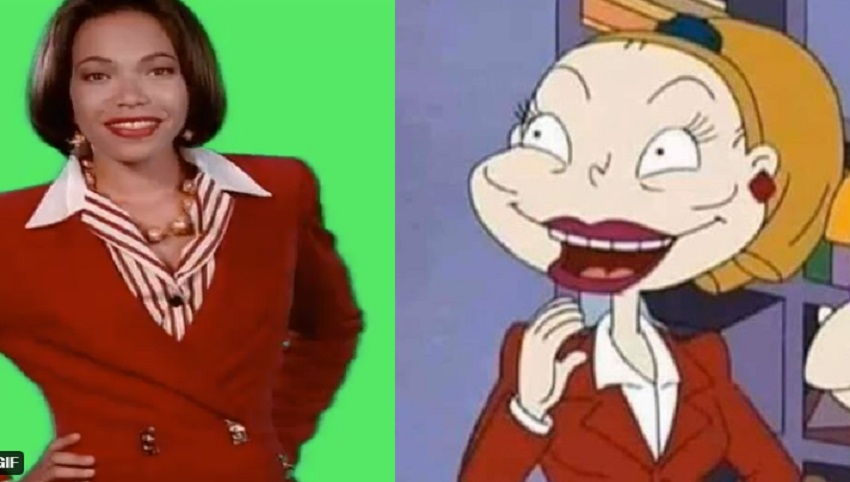 People Are Saying This Rugrats Character Looks Like Tisha Campbell