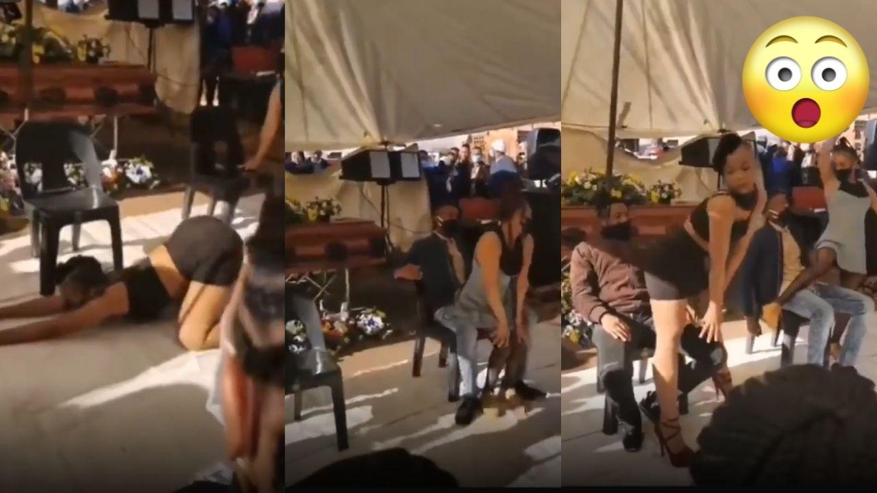Viral Video Shows Exotic Dancers Performing at Funeral of Deceased Dancer