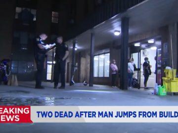 2 Dead After Man Jumps Off Apartment Building Roof; Lands on Man Below