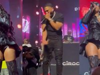 Ashanti Addresses Nelly Coming Across Stage For a 'Hug'