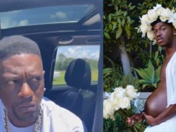 Boosie Speaks On Lil Nas X's Pregnancy Pics and The Internet Drags Him