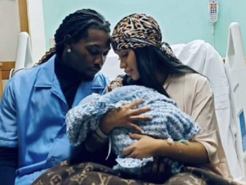 Cardi B & Offset Welcome Baby No. 2