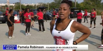 Chicago Woman Creates 40+ Double Dutch Group for Fun, Fitness & Friendship