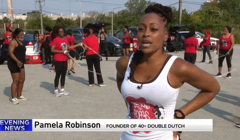 Amazing: Chicago Woman Creates 40+ Double Dutch Group for Fun, Fitness & Friendship