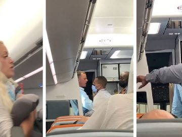 Drunk Couple Gets Booted Off JetBlue Fight For Not Properly Wearing Mask