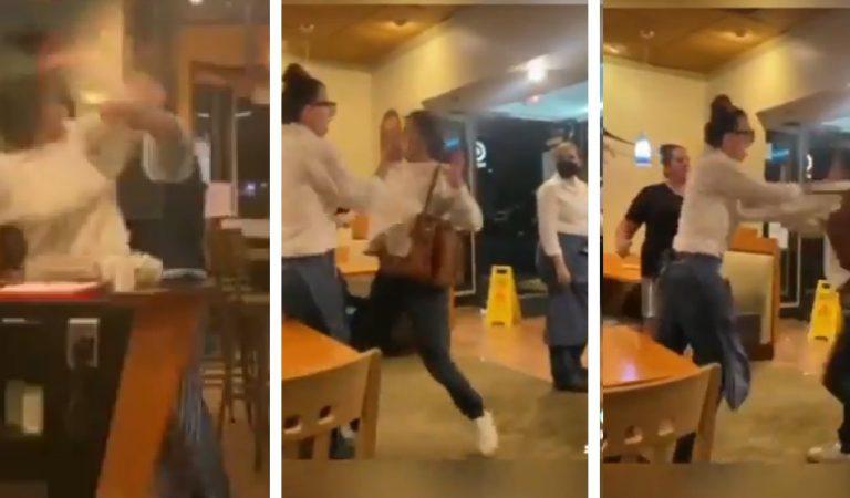'I'm vaccinated, b****': Drunk Karen Attacks Restaurant Employees in California