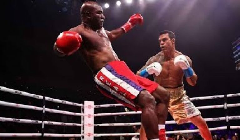 Evander Holyfield Loses After 1st Round TKO Against Vitor Belfort