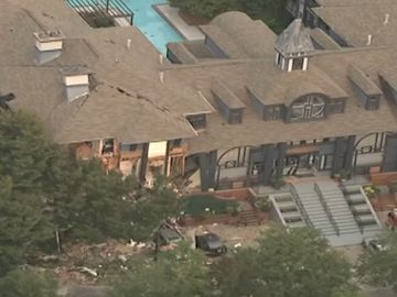 Gas Explosion in Atlanta Rips Through Apartment Complex Injuring 4
