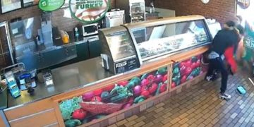Female Subway Employee Suspended After Viral Video Shows Defending Herself From Armed Robber in Illinois
