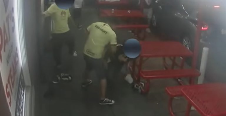 Group Of Soccer Fans Hand Out Deadly Brutal Beatdowns Outside Pat's Cheesesteak Shop In Philadelphia