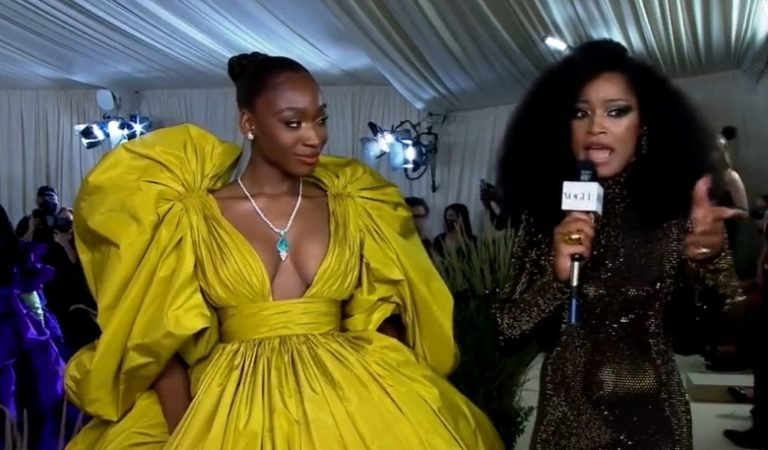 """""""I ain't lying ask the kids"""": Keke Palmer As a Interviewer at The Met Gala Is Hilarious & Heartwarming"""