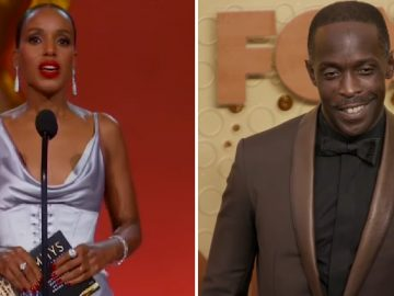 Kerry Washington Pays Tribute to Michael K. Williams at 2021 Emmys
