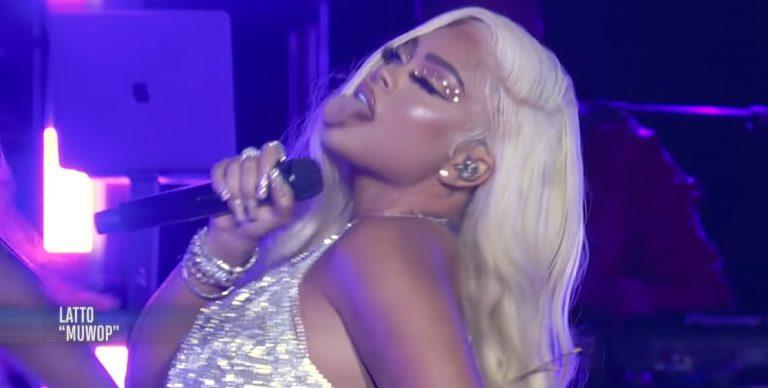 Latto Performs 'Muwop' & 'Big Energy' At 2021 MTV VMAs