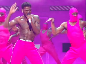 """Lil Nas X ft. Jack Harlow Perform """"Industry Baby"""" & """"Montero"""" at 2021 VMAs"""