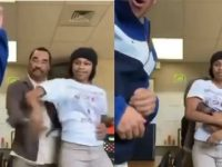 Male Teacher Caught on Camera...Getting Real 'Touchy' With Female Student