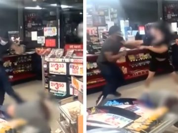 Man Brutally Kicks and Stomps Female Gas Station Attendant's Head in New Mexico!