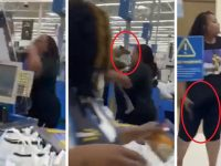 Man Puts a Gun in a Woman's Face in Walmart After She Hits Him With a Quick Combo