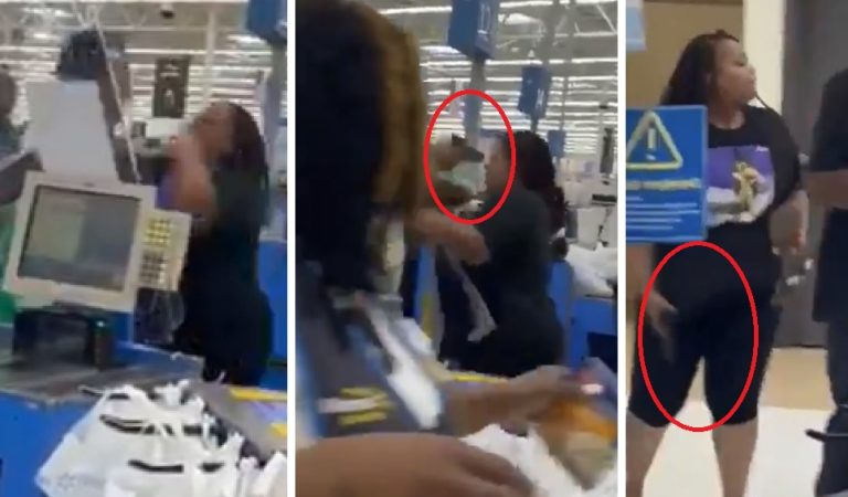 The Day Hell Broke Loose: Man Puts a Gun in a Woman's Face in Walmart After She Hits Him With a Quick Combo