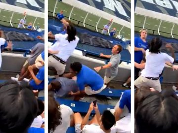 Massive Brawl Erupts at Memphis Football Game During Home Opener