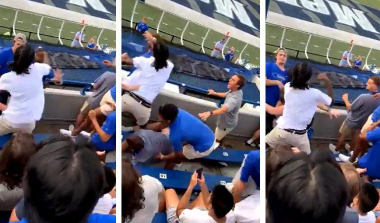 Royal Rumble: Massive Brawl Erupts at Memphis Football Game During Home Opener