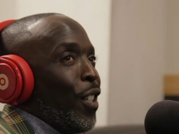"""Michael K. Williams """"Tupac gave me my very first movie role"""""""
