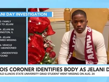 Missing Illinois State University Student Jelani Day Remains Identified