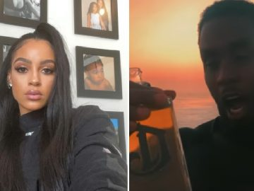 People React to Diddy Locking Lips Rappers Bow Wow & Future's Baby Mother...Joie Chavis in Italy