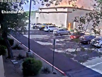 Print Shop Explodes In Chandler, Arizona Injuring 4