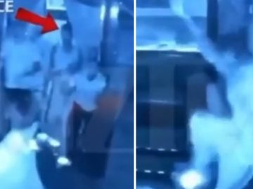 Rapper Blueface and His Crew Caught in 4k Brutally Assaulting & Stomping Bouncer in California Club