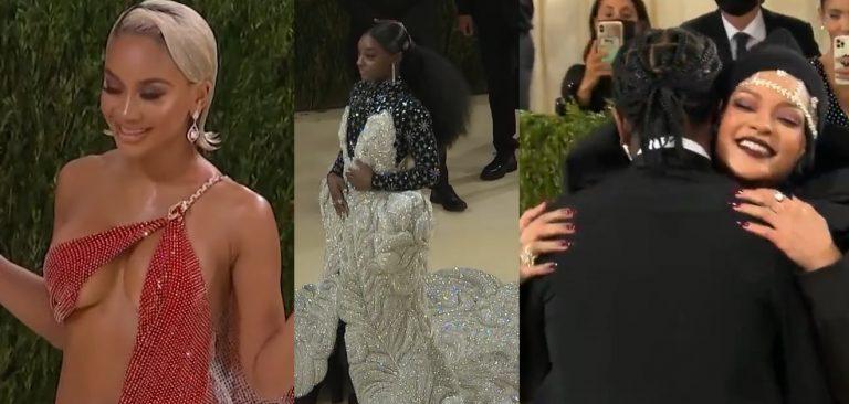 See The Top Looks From Rihanna, KeKe Palmer, Iman, Tracee Ellis Ross, Simone Biles, Saweetie, Lil Nas X & More!