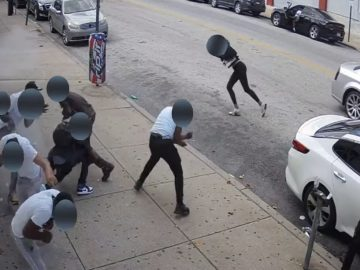Surveillance Video Captures Deadly Drive-By Shooting That Killed 1, Injured 5 in Philadelphia