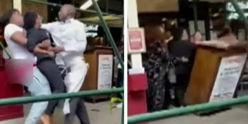 Texas Tourist Caught on Cellphone Video Attacking Hostess; Reportedly Over Proof of Vaccination