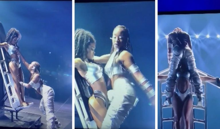Teyana Taylor Joins Normani to Close Out 'Wild Side' Performance at 2021 VMAs
