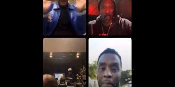 Things Get Real Heated Between Jermaine Dupri & Diddy on Instagram Live