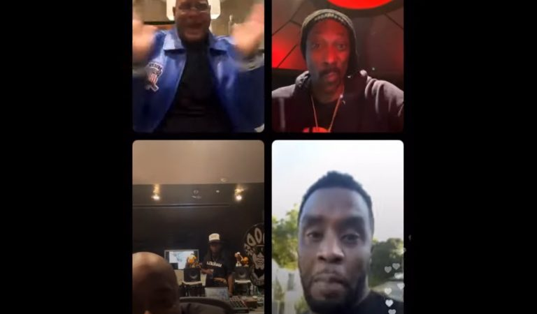'Short arms, you need to chill': Things Get Real Heated Between Jermaine Dupri & Diddy on Instagram Live