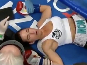 This Woman Just Laid Down The Quickest Knockout...EVER