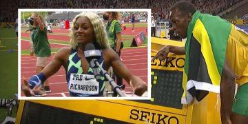 Usain Bolt on Sha'carri Richardson: 'Talk Less, Train Harder'