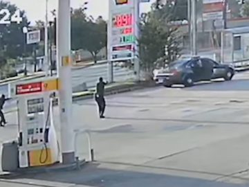 Video Shows Officers Opening Fire On Man in The Back of Patrol Car in Atlanta