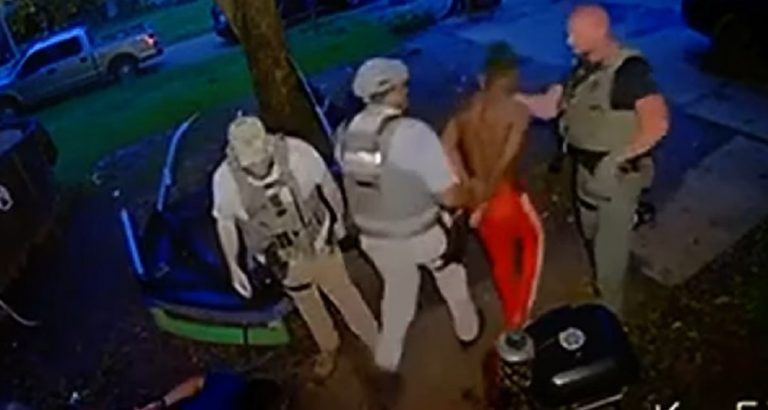 Video Shows U.S. Marshal Punch Handcuffed Suspect In The Face in Mississippi