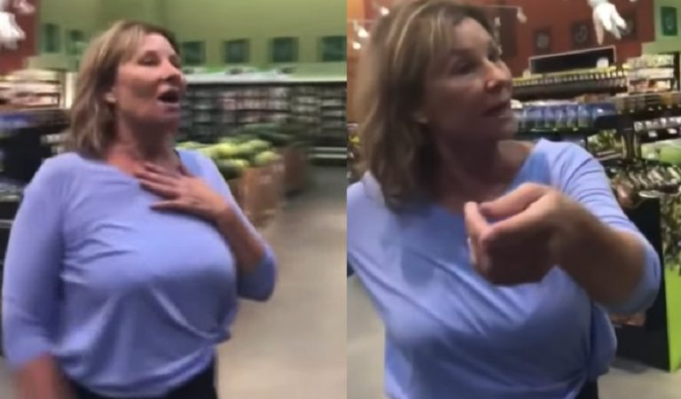 The Disrespect: Viral Video Shows Arizona Woman Coughing On People; Now She Is Unemployed