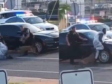 Disturbing: Viral Video Shows Missouri Cops Letting K-9 Viscously Attack Black Man