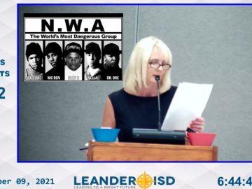 "Woman Uses N-Word While Reciting N.W.A. ""F*** Tha Police"" Lyrics At School Board Meeting"