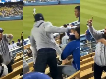 Dodgers Fan Scales Seats To Fight Braves, Gets Hit With Hail of Punches and Leaking Blood