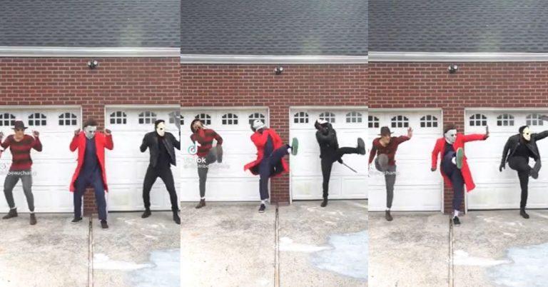 Freddy Kreuger, Michael Myers & Jason Hit That Omarion Dance