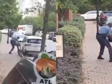 Georgia State Patrol Trooper Caught on Video Stomping a Man After Chase