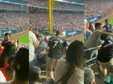 Viral Video Shows White Sox Fan Getting Slugged With a Hard Right In The Stands During Game
