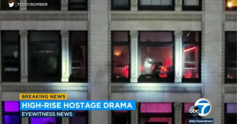 SWAT Storms Into Downtown Los Angeles Apartment & Fatally Shoots Suspect Who Is Holding a Woman Hostage